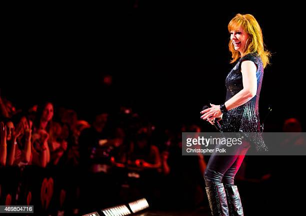 Entertainer Reba McEntire kicks off the Outnumber Hunger campaign with a special concert event 'Reba and Friends Outnumber Hunger' on Tuesday March...