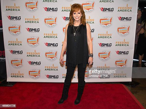 Entertainer Reba McEntire kicks off the Outnumber Hunger campaign with a special concert event Reba and Friends Outnumber Hunger on Tuesday March 31...