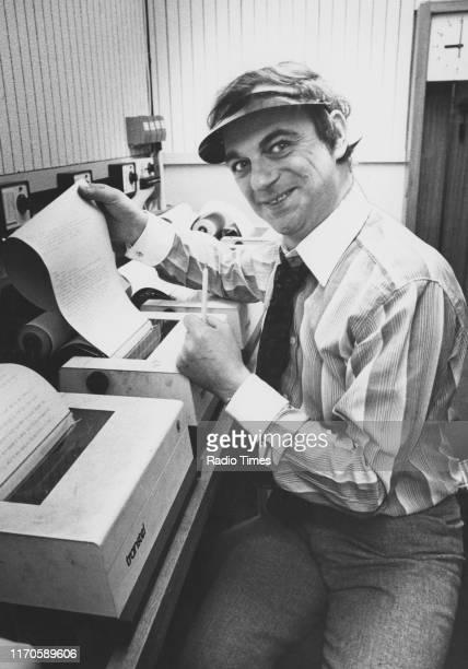 Entertainer Roy Hudd April 13th 1977