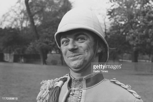 Entertainer Roy Hudd in military costume September 7th 1973