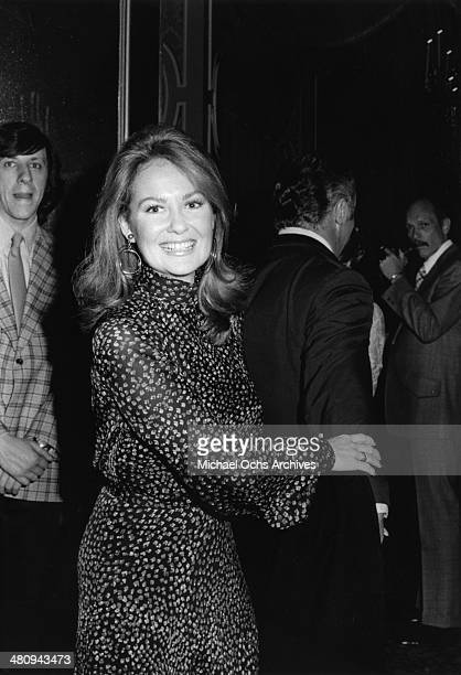 Entertainer Shelley Fabares attends an event in circa 1975