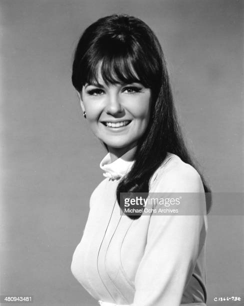 Entertainer Shelley Fabares poses for a portrait to promote the release of the movie A Time To Sing in which she plays Hank Williams Jr's love...