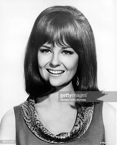 Entertainer Shelley Fabares poses for a portrait to promote the release of the movie Spinout in which she disrupts Elvis's life in 1966