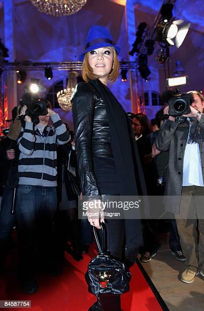 Entertainer Verona Pooth arrives at the GQ Style Night at the MVG Museum on February 02, 2009 in Munich, Germany.