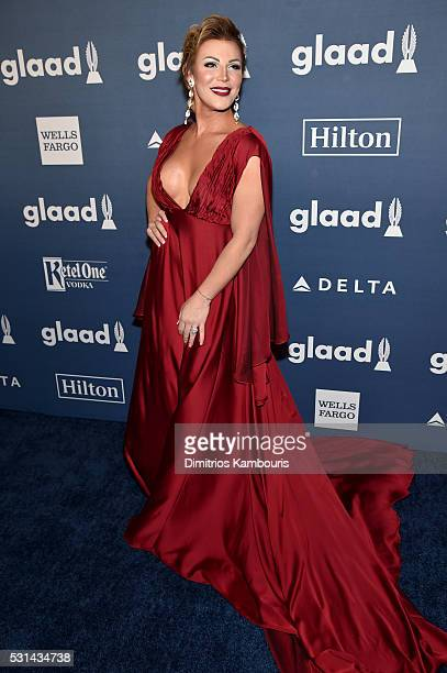 Entertainer Vinna Rouge attends the 27th Annual GLAAD Media Awards in New York on May 14 2016 in New York City