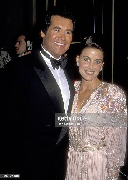 Entertainer Wayne Newton and Actress Marla Heasley attend the 47th Annual Golden Globe Awards on January 20, 1990 at Beverly Hilton Hotel in Beverly...