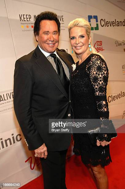 Entertainer Wayne Newton and Kathleen McCrone arrive at the 17th annual Keep Memory Alive Power of Love Gala benefit for the Cleveland Clinic Lou...