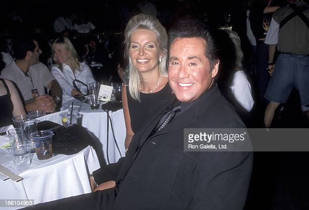 Entertainer Wayne Newton and wife Kathleen McCrone attend the Grand ReOpening of the Hard Rock Hotel on May 21 1999 at the Hard Rock Hotel in Las...