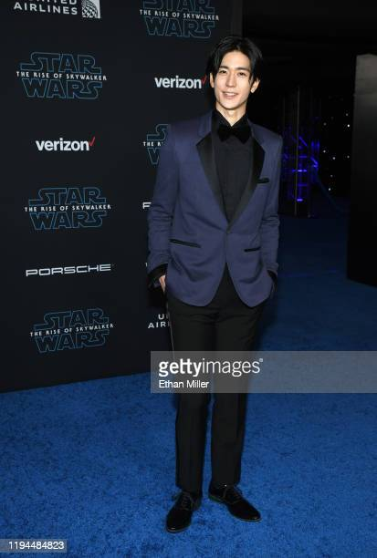 Entertainer Yuto Nakajima attends the premiere of Disney's Star Wars The Rise of Skywalker on December 16 2019 in Hollywood California