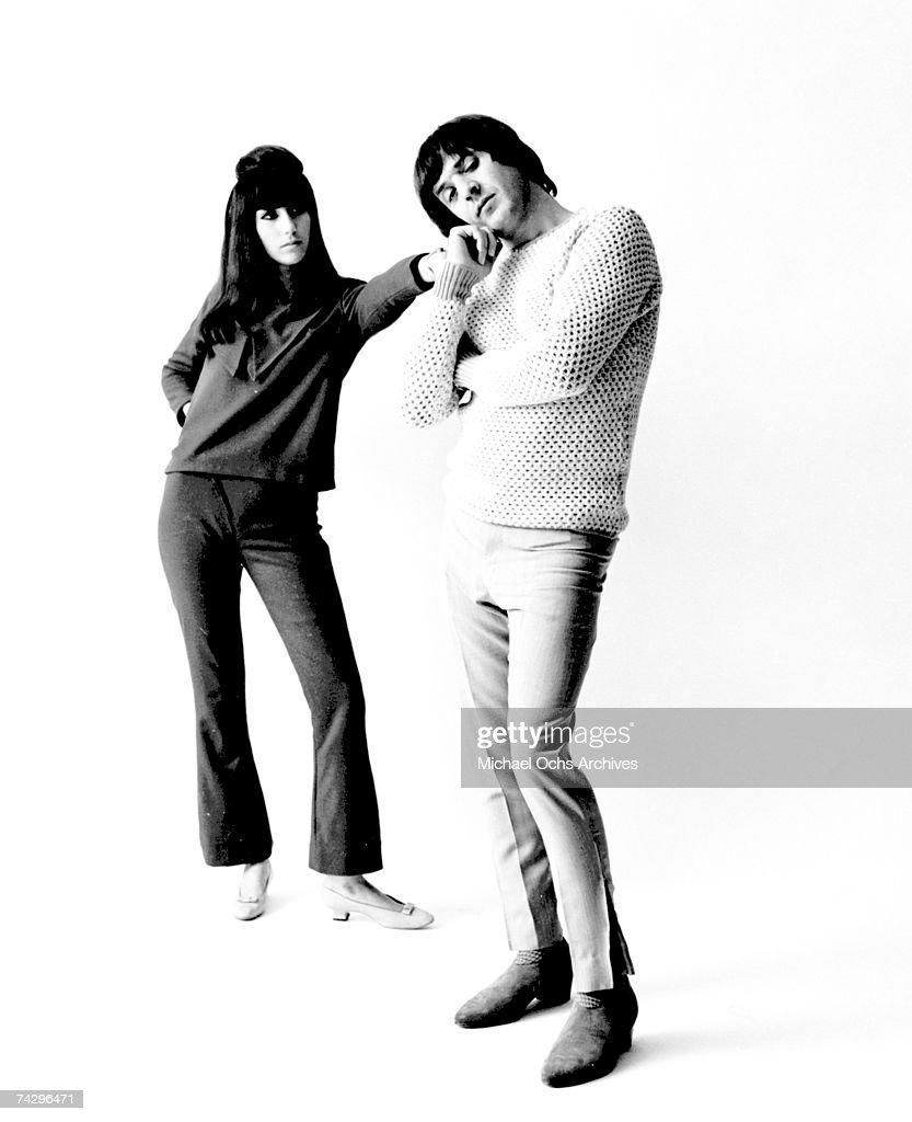 Sonny & Cher Portrait Session : News Photo