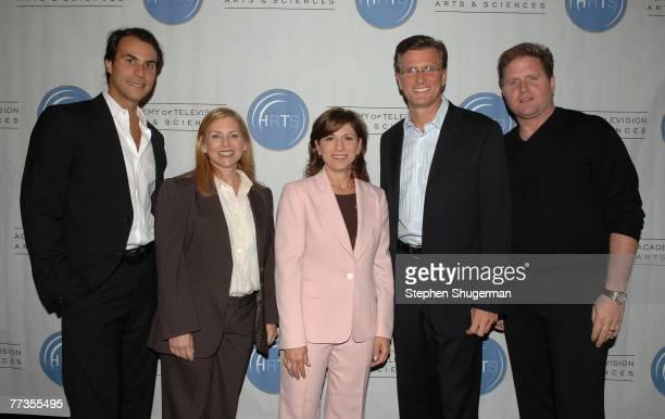 Entertainment and Universal Media Studios Co-Chairman Ben Silverman, The CW Entertainment President Dawn Ostroff, CBS Entertainment President Nina...