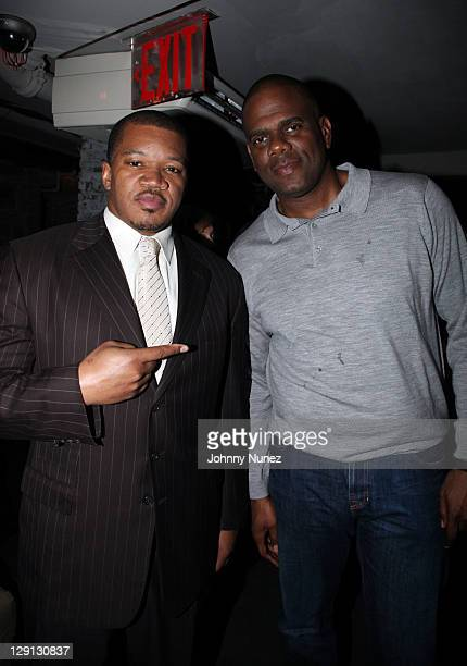 Entertainment attorney Matt Middleton and music executive Big Jon Platt attend the ASCAP Mixer for the EMI Urban Writers Conference at Bar 675 on...