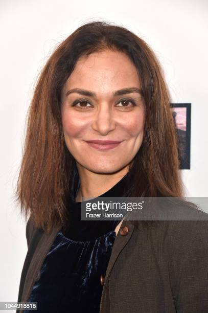 Entertainment attorney Nadia Davari attends the Premiere Of Vision Films' 'Living In The Future's Past' at Ahrya Fine Arts Theater on October 2 2018...