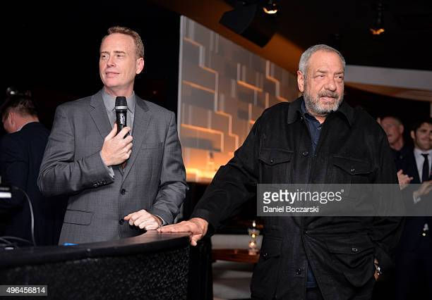Entertainment chairman Robert Greenblatt and Executive Producer Dick Wolf attend the premiere party for NBC's 'Chicago Fire', 'Chicago P.D.' and...