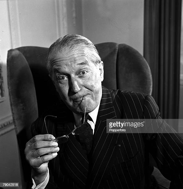 1955 French star Maurice Chevalier portrait who was admired for his charm melodic voice and his heavy French accent He started his career in French...