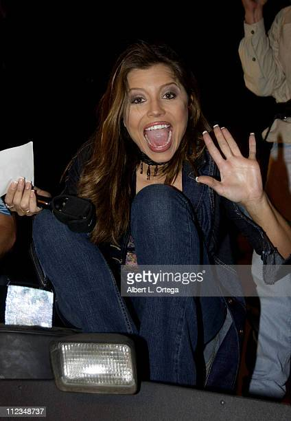 KTLA entertainment correspondent Mindy Burbano during First Showing of Star Wars Episode II Attack of the Clones at Mann's Grauman's Chinese Theatre...