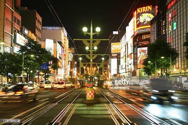 entertainment district 'Susukino'
