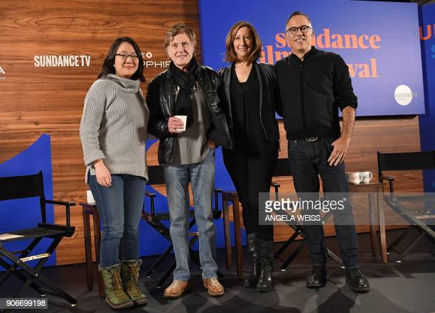 Entertainment Editor of MarketWatch and Head of Arts and Culture Coverage at Dow Jones Media Group Barbara Chai Founder of the Sundance Institute...