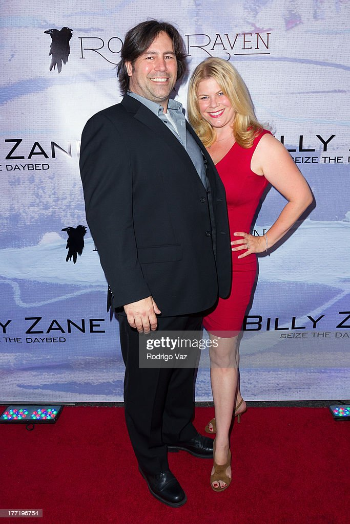 Entertainment Executive Marjorie DeHey (R) attends the artist's reception for Billy Zane's solo art exhibition 'Seize The Day Bed' on August 21, 2013 in Los Angeles, California.