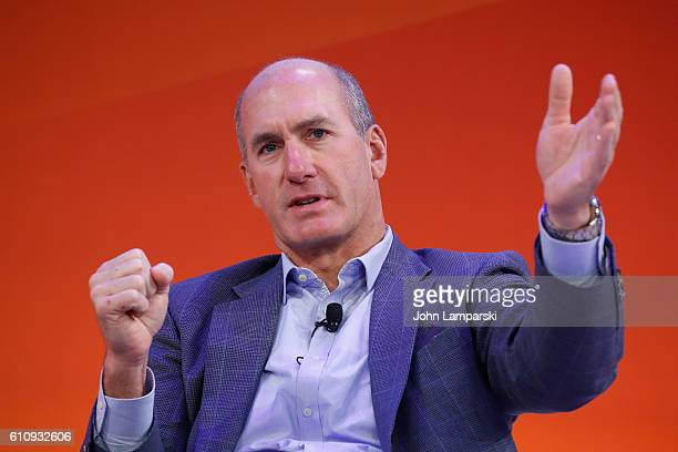 Entertainment Group ATT John Stankey speaks at the MediaLink Presents MASSterclass The New Age of Mass Personalization panel on the Times Center...