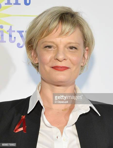 Entertainment Honoree, actress Martha Plimpton attends the ninth annual PFLAG National Straight for Equality Awards Gala on March 27, 2017 in New...