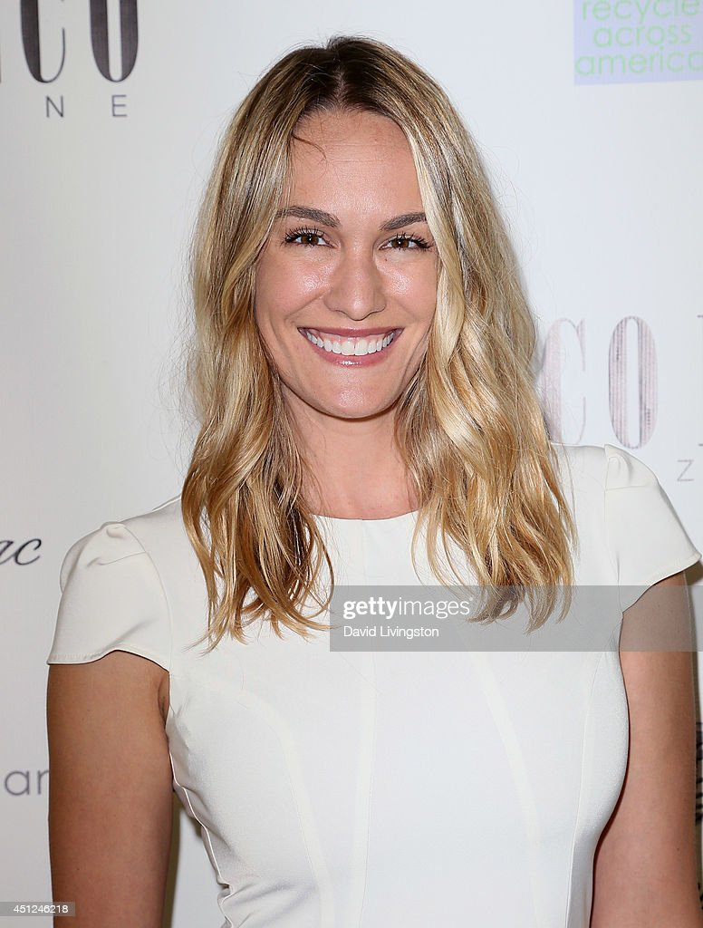 Entertainment journalist Ashlan Gorse attends Coco Eco Magazine's launch of it's Earth Rocks! debut print issue at Roy Robinson at Fred Segal on June 25, 2014 in Los Angeles, California.