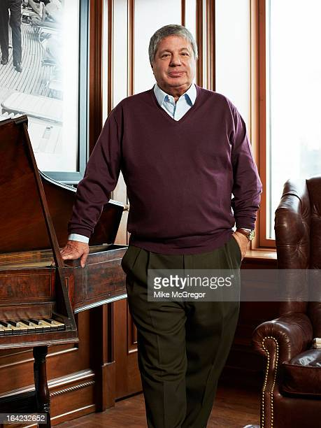 Entertainment lawyer Allen Grubman is photographed for Billboard Magazine on February 1 2013 in New York City