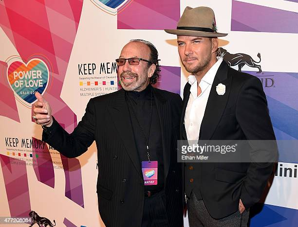 Entertainment manager Bernie Yuman and singer/songwriter Matt Goss attend the 19th annual Keep Memory Alive Power of Love Gala benefit for the...