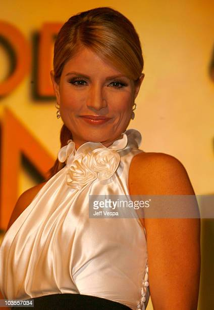 Entertainment news anchor Dayna Devon at The 65th Annual Golden Globe Awards Announcement at the Beverly Hilton on January 13 2008 in Beverly Hills...