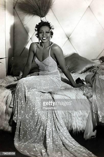 circa 1930 Josephine Baker American born dancer and singer Josephine Baker