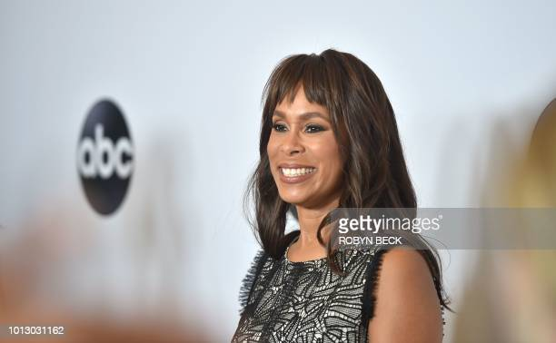 ABC Entertainment President Channing Dungey attends the Disney ABC Television TCA Summer Press Tour August 7 2018 at the Beverly Hilton Hotel in...