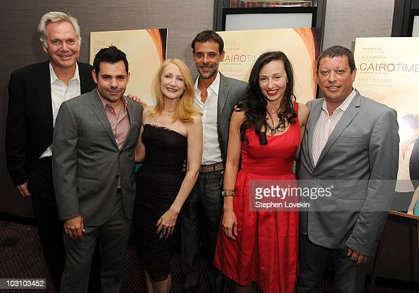 Entertainment president Jonathan Sehring producer Charles Pugliese actress Patricia Clarkson actor Alexander Siddig director Ruba Nadda and producer...