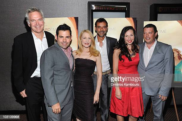 IFC Entertainment president Jonathan Sehring producer Charles Pugliese actress Patricia Clarkson actor Alexander Siddig director Ruba Nadda and...