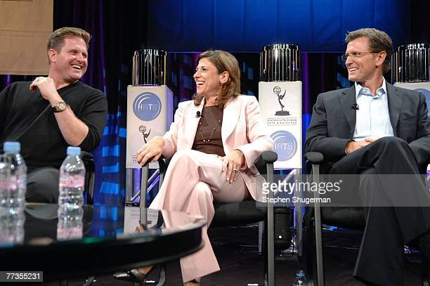 Entertainment President Stephen McPherson, CBS Entertainment President Nina Tassler and Fox Broadcasting Company Entertainment President Kevin Reilly...
