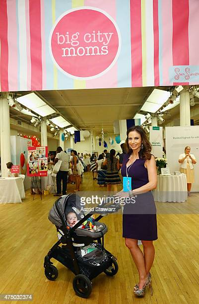 Entertainment Reporter for CBS 2 Jill Nicolini attends Big City Moms Biggest Baby Shower Ever NYC 2015 held at the Metropolitan Pavilion on May 28...