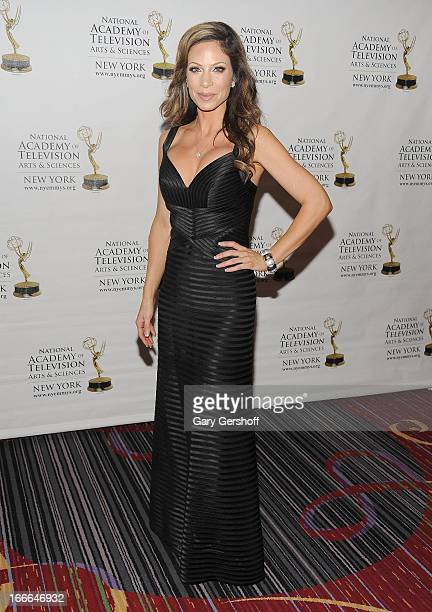 Entertainment reporter Jill Nicolini attends the 56th Annual New York Emmy Awards at Marriott Marquis Times Square on April 14 2013 in New York City