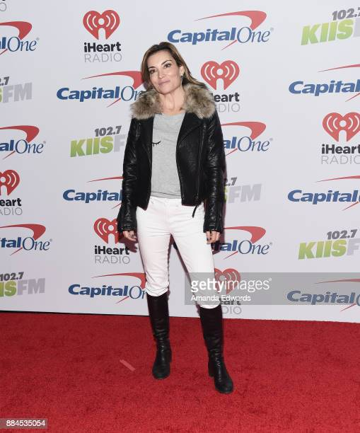 Entertainment reporter Kit Hoover arrives at 1027 KIIS FM's Jingle Ball 2017 at The Forum on December 1 2017 in Inglewood California