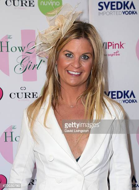 Entertainment reporter Liz Crokin attends the 2nd Annual How2Girl Kentucky Derby Ladies Luncheon hosted by Courtney Sixx at the Sixx Residence on May...