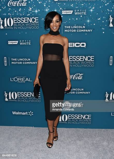 Entertainment reporter Shaun Robinson arrives at the Essence 10th Annual Black Women in Hollywood Awards Gala at the Beverly Wilshire Four Seasons...
