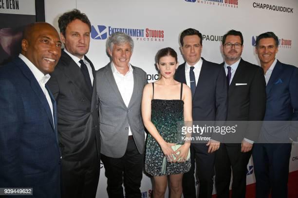 Entertainment Studios CEO/CoFounder Byron Allen Jason Clarke John Curran Kate Mara Ed Helms Campbell McInnes and Mark Ciardi attend the premiere of...