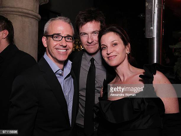 Entertainment Weekly's Editor Jess Cagle Jason Bateman and Wife Amanda Anka at Entertainment Weekly's Party to Celebrate the Best Director Oscar...
