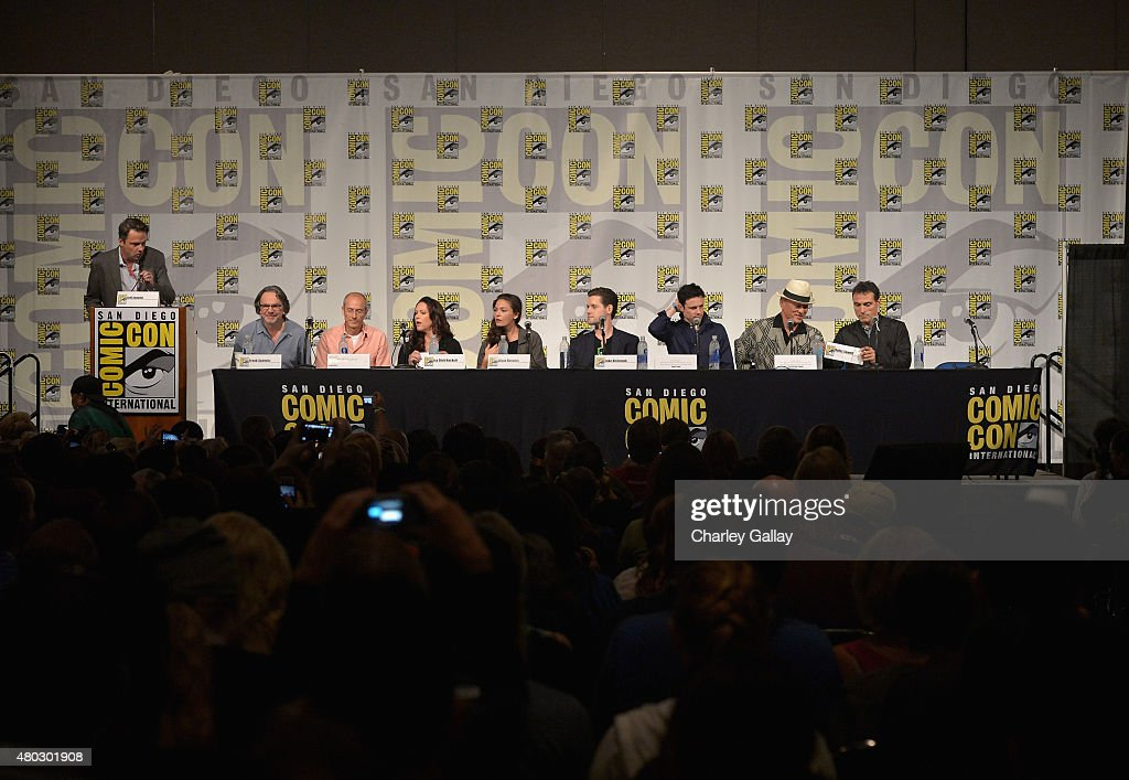 Amazon Original Series 'The Man In The High Castle' Panel And Signing - Comic-Con International 2015 : News Photo