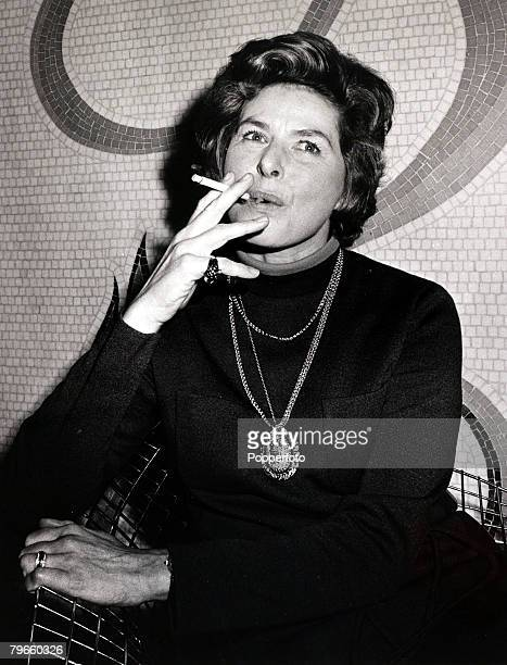 Entertainment/Cinema England 5th January 1971 Swedish born actress Ingrid Bergman pictured in London