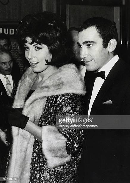 21st September 1962 English Composer and Lyricist Lionel Bart pictured with singer Alma Cogan at a film premiere in London Lionel Bart was one of...