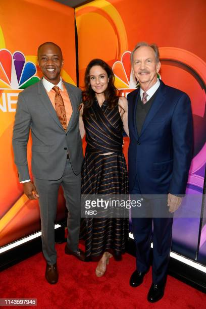 Entertainment's 2019/20 New Season Press Junket in New York City on Monday May 13 2019 Pictured J August Richards Sarah Wayne Callies Michael O'Neill...