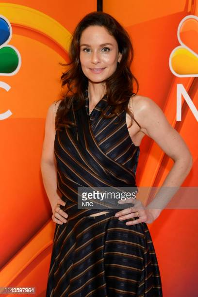 Entertainment's 2019/20 New Season Press Junket in New York City on Monday May 13 2019 Pictured Sarah Wayne Callies Council of Dads on NBC