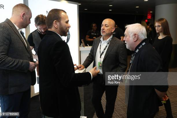 Entertainment's EVP of Specials Music and Live Events Jack Sussman and Grammy Awards executive producer Ken Ehrlich attend the GRAMMY Gift Lounge...