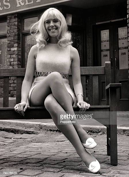 Entertainment/Television England 3rd May 1970 Actress Julie Goodyear about to make her debut in the TVsoap Coronation Street as Bet Lynch on Monday...