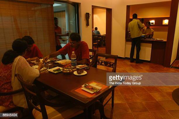 Enthai Keralam food Restaurant at Poes Garden in Chennai Tamil Nadu India