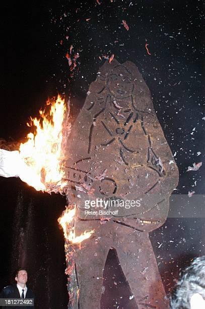 """Enthüllung einer """"Stele"""" , vor """"Unesco-Benefiz-Gala"""", Neuss, Deutschland, ,"""